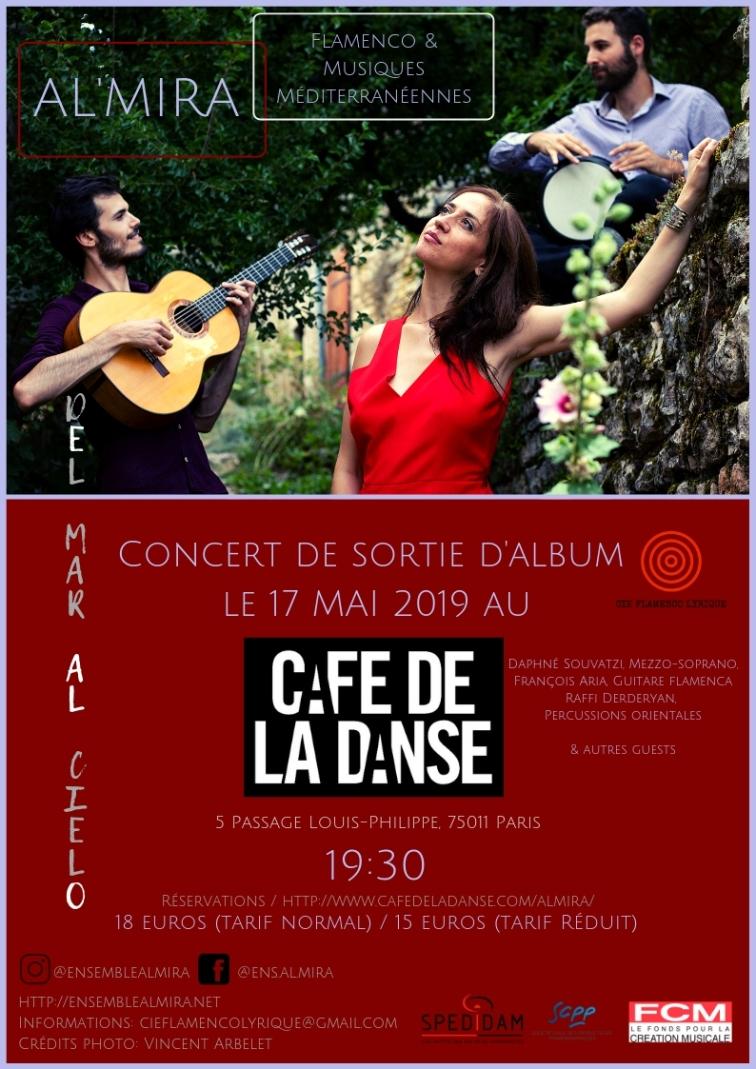 Café de la Danse flyer