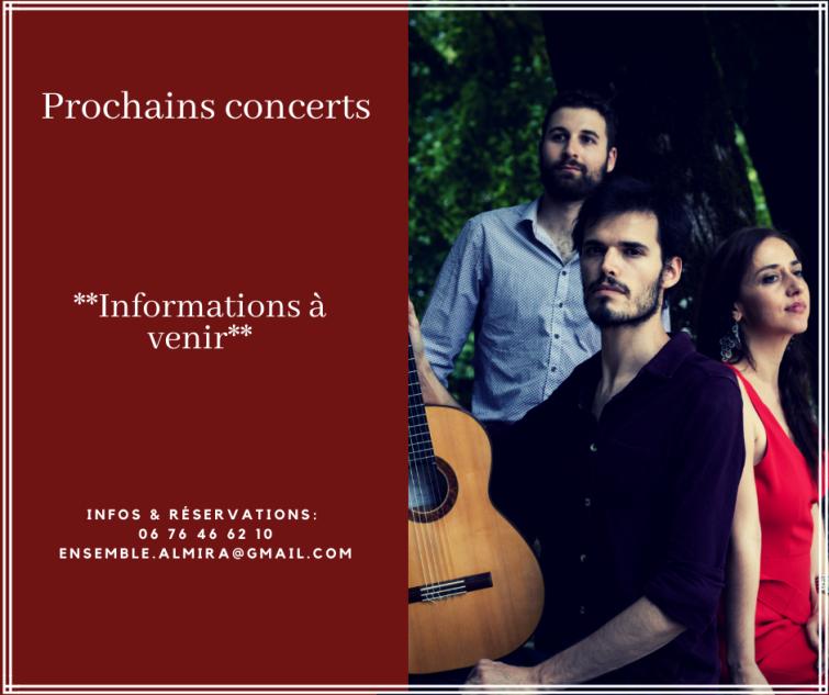 Prochains concerts 2019